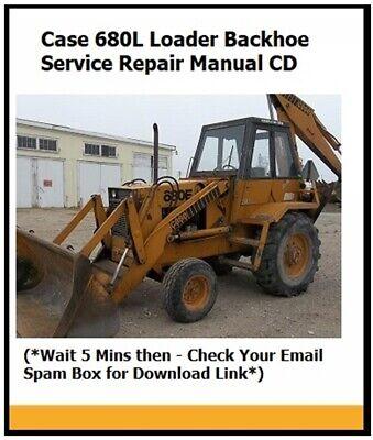 Case 680l Tractor Loader Backhoe Service Repair Manual