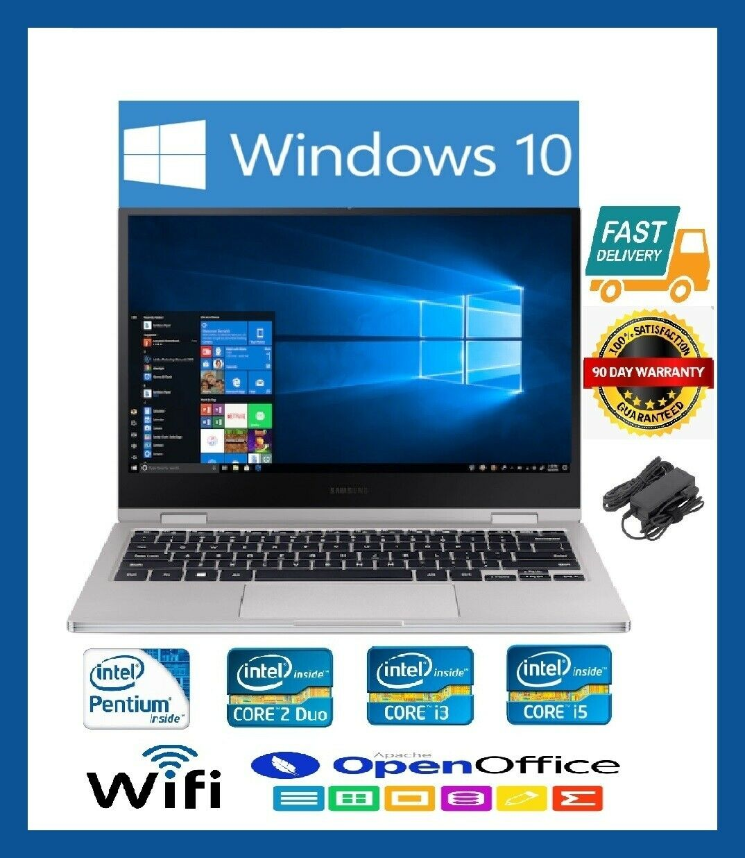 Laptop Windows - FAST CHEAP LAPTOP DELL HP TOSHIBA Core i3 i5 4GB 8GB RAM TB WiFi Win10 WARRANTY
