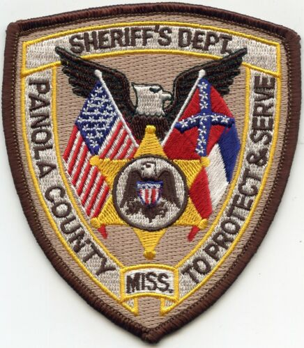 PANOLA COUNTY MISSISSIPPI MS SHERIFF POLICE PATCH