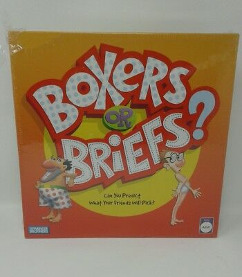 Parker Bros. Adult Humor Boxer or Briefs Party Trivia Question Cards Board Game  (Humor Boxer Briefs)