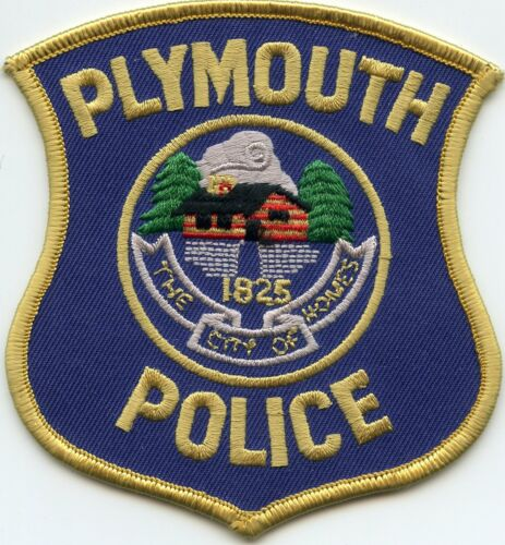 PLYMOUTH MICHIGAN MI The City of Homes POLICE PATCH