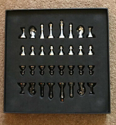 Metal Chess Set - New In Box NIB
