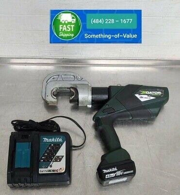 Greenlee Ek1240lx11 Ek1240 12 Ton U Die Cordless 18v Battery Crimper