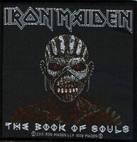 Iron Maiden , Libro Of Souls , Patch/cucire-su Patch 602639 -  - ebay.it