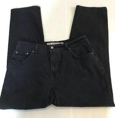 Just My Size JMS Womens Jeans Black Plus Size 18W Classic