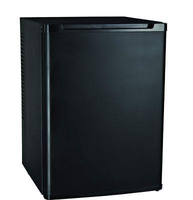 Kühlschrank geräuschlos leise schwarz Büro Camping Hotel Wein Mini Kühlschrank 4 ()