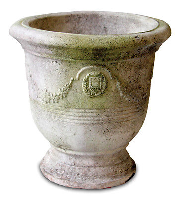 Garden Bowl Planter - Garland and Ring Garden Urn Bowl Planter by Orlandi Statuary-FS70117
