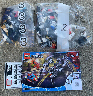 Lego Marvel Superheroes Spider-man 76163 Venom Crawler Only No Box Sticker Sheet