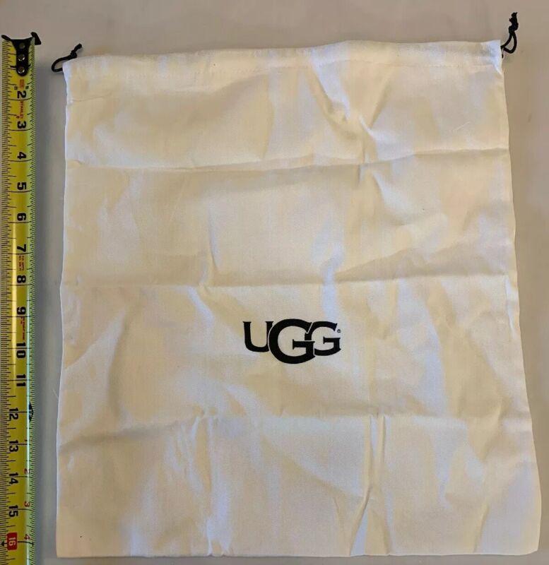 """UGG Shoe Bag Drawstring Designer Travel 17"""" X 15"""""""