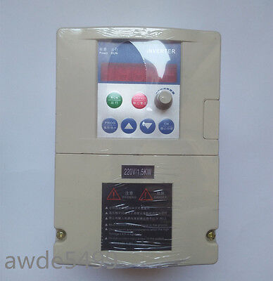 Input-1hp-220v-output-3ph-220v-1.5 Kw-7a-vfd-inverter-frequency-converter-vfd