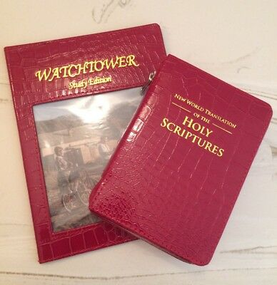 RED GATOR BIBLE COVER AND MAGAZINE COVER, Jehovah's Witnesses, JW.ORG