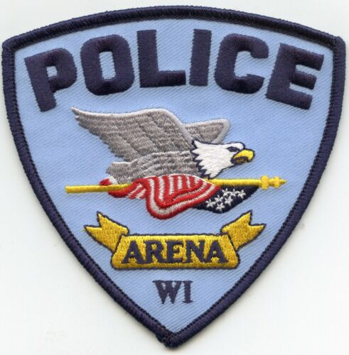 ARENA WISCONSIN WI POLICE PATCH