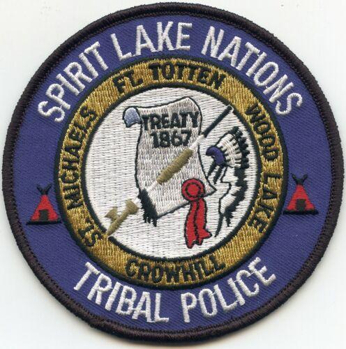 SPIRIT LAKE NATIONS NORTH DAKOTA ND TRIBAL POLICE PATCH