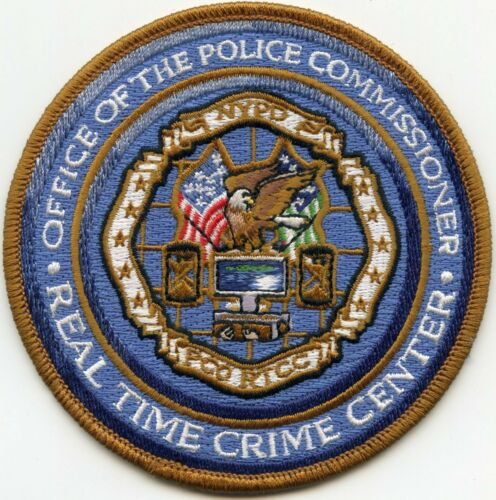 NEW YORK OFFICE OF THE POLICE COMMISSIONER Real Time Crime Center POLICE PATCH