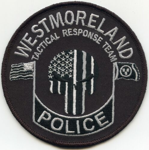 WESTMORELAND TENNESSEE TN Tactical Response Team SWAT POLICE PATCH