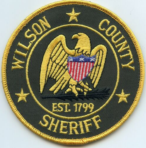 WILSON COUNTY TENNESSEE TN SHERIFF POLICE PATCH