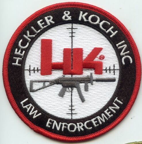 H&K FIREARMS LAW ENFORCE VIRGINIA GEORGIA GERMANY full color POLICE PATCH