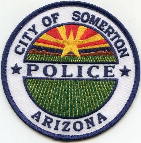 SOMERTON ARIZONA AZ POLICE PATCH
