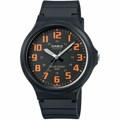 Casio Men's Watch in Resin/Acrylic Glass with Neo Display & Buckle - Water Resis