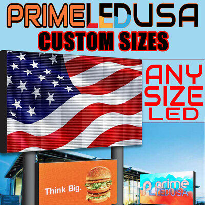 Led Sign P10 Dip Red Green Yellow Indooroutdoor Wifi Led 12.5 X 37.75