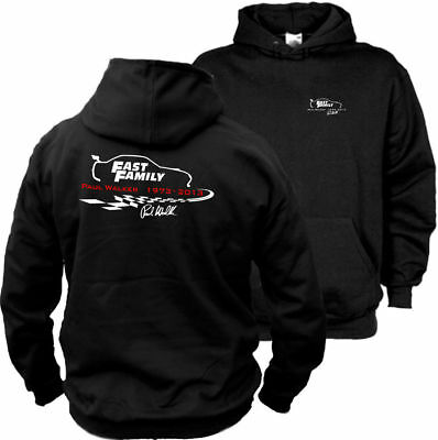 Fast Family Paul Walker Kapuzenpullover - Fast and Furious Tuning Hooded Sweater