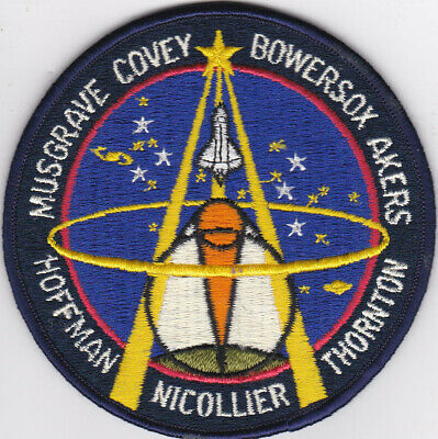 NASA ORIGINAL STS-61 HOFFMAN-NICOLLIER-THORNTON  CREW PATCH