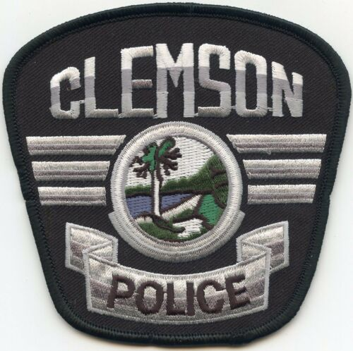CLEMSON SOUTH CAROLINA SC POLICE PATCH