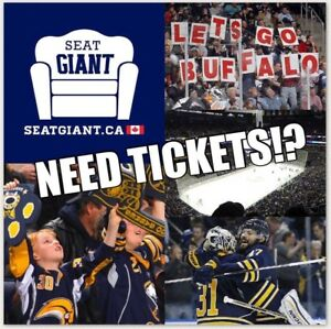 BUFFALO SABRES PRE-SEASON TICKETS FROM $8 CAD!!