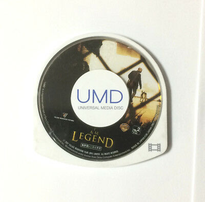 USED PSP Disc Only UMD Video I Am Legend JAPAN Sony PlayStation Portable import