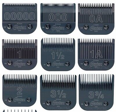 Oster Titan / Classic 76 Black Diamox Detachable Clipper Replacement Blade NEW! - New Oster Classic 76 Blade