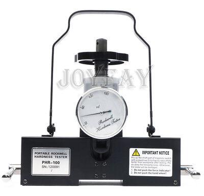 Phr-100 Rockwell Hardness Tester Magnetic Type Meter Sclerometer