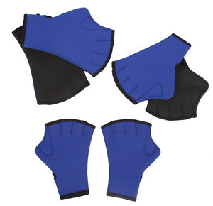 Water Aerobics Aqua Exercise Gloves S-XL Neoprene Surfing Swimming Training Swim