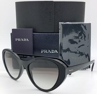 c6cb26eb941 New Prada sunglasses PR14US 1AB0A7 Black Gradient AUTHENTIC Women PR 14  Heart