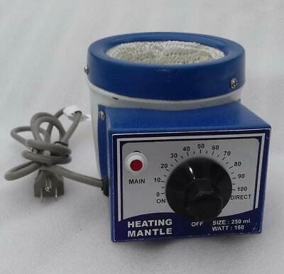 110v Heating Mantle 250mL for Round Bottom Flask 150 (Flask Heating Mantles)