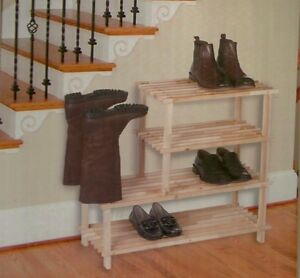 Grande etagere placard chaussure rangement armoire neuf - Rangement chaussures placard ...