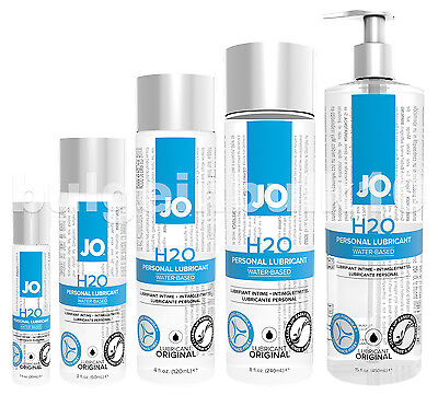 System Jo H2o Water Based Sex Lubricant   Choose Size