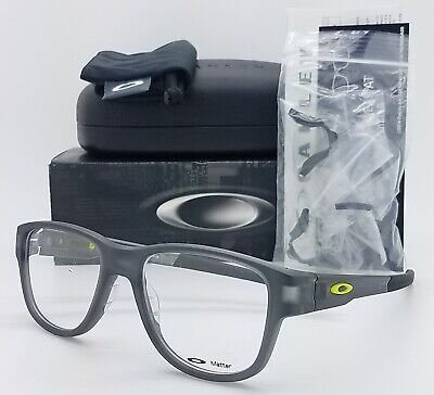 NEW Oakley Splinter 2.0 RX Eyeglasses Frame Satin Grey Smoke OX8094 -0551 51mm for sale  Shipping to Canada