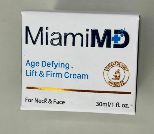 MIAMI MD AGE DEFYING LIFT & FIRM CREAM - FREE FAST SHIPPING