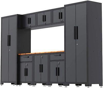 Torintce 9-piece Garage Storage Cabinet System