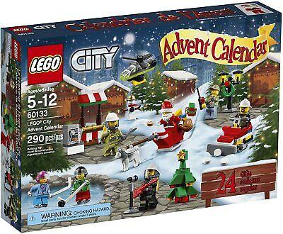 New LEGO City 60133 Advent Calendar 2016 Sealed Christmas Santa Minifigure