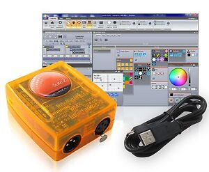 Basic Class Sunlite Suite 2 DMX USB Interface Controller by Nicolaudie - OEM