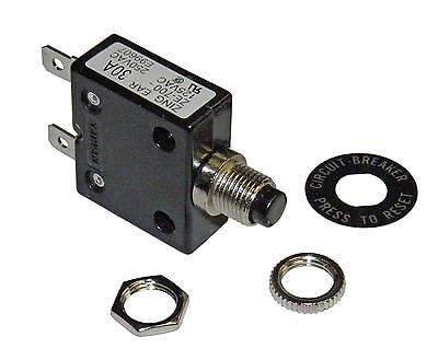 Philmore 30 Amp Push Button Circuit Breaker 32v Dc Or 250v Ac Fuse