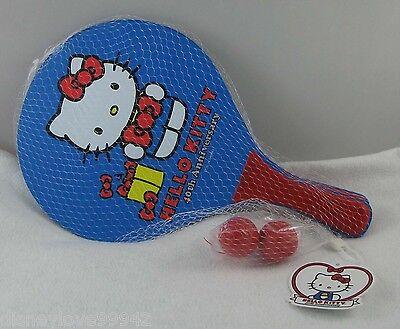 Hello Kitty 40th Sports Lg Paddle Ball Pair Set Beach