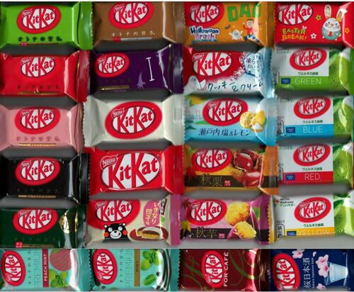 23 Different PCS Japanese Kit Kat KitKat Limited Flavors Variety Ships From USA
