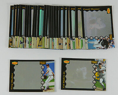 1996 Dennys Pinnacle Grand Slam Hologram Set  28