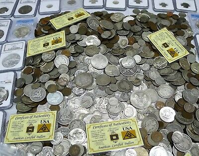 ESTATE TREASURES! PCGS, GOLD, SILVER, CURRENCY, BUFFALO NICKELS! 7 Items!