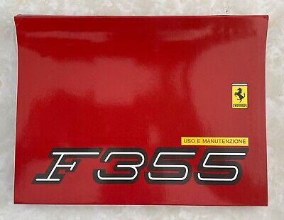 Ferrari F355 Owners Manual Handbook