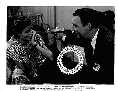 FILM-NOIR, Mann, Brenda Marshall William Gargan still STRANGE IMPERSONATION ('46