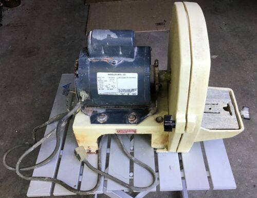 Handler Trimmer w/ Westinghouse motor Tested and Working
