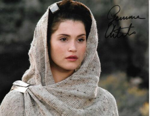 Gemma Arterton Autogramm signed 20x25 cm Bild